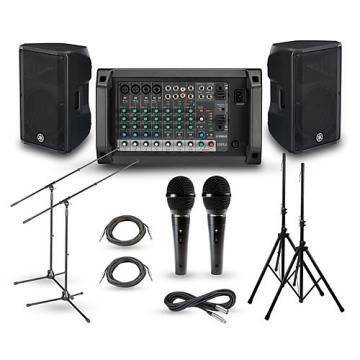 """Yamaha EMX2 with CBR PA Package 12"""" Mains"""