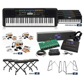 Yamaha PSR-E253 61-Key LC4 Keyboard Lab