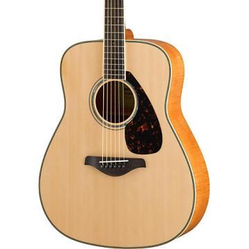 Yamaha FG840 Dreadnought Acoustic Guitar Natural