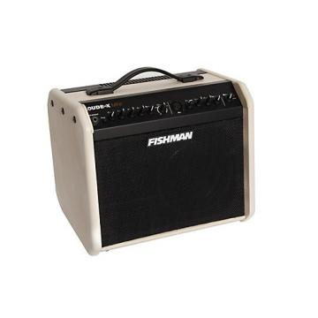 Fishman Limited Edition Loudbox Mini 60W 1x6.5 Acoustic Combo Amp Cream