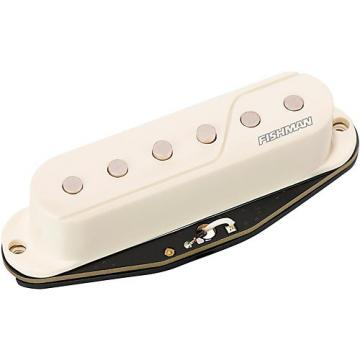 Fishman Fluence SS Single Width Pickup Black and White