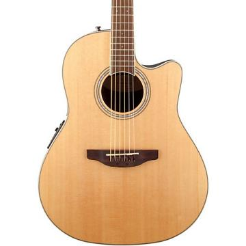 Ovation Celebrity Standard Mid-Depth Cutaway Acoustic-Electric Guitar Natural