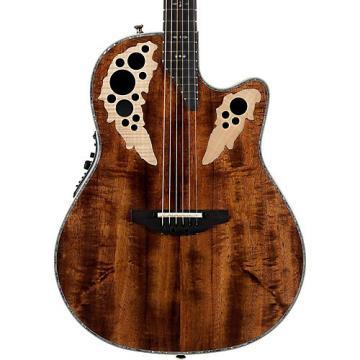 Ovation C2078AXP Elite Plus Contour Acoustic-Electric Guitar Natural