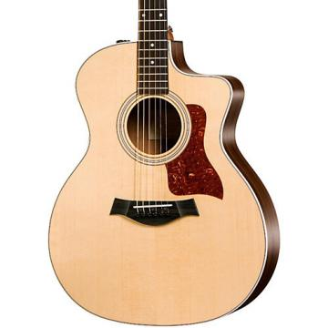 Chaylor 200 Series 214ce Grand Auditorium Acoustic-Electric Guitar Natural
