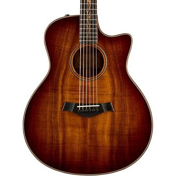 Chaylor Koa Series K26ce Grand Symphony Acoustic-Electric Guitar Shaded Edge Burst