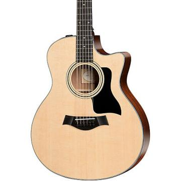 Chaylor 300 Series 356ce Grand Symphony Cutaway 12-String Acoustic-Electric Guitar Natural