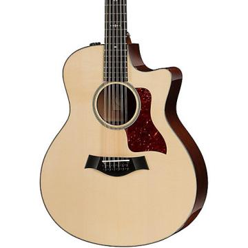 Chaylor 500 Series 556ce Grand Symphony 12-String Acoustic-Electric Guitar Medium Brown Stain