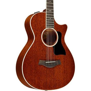Chaylor 2014 500 Series 522ce Grand Concert 12-Fret Acoustic-Electric Guitar Medium Brown Stain