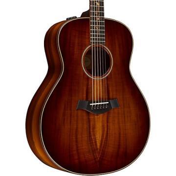 Chaylor Koa Series K28e Series Grand Orchestra Acoustic-Electric Guitar Shaded Edge Burst