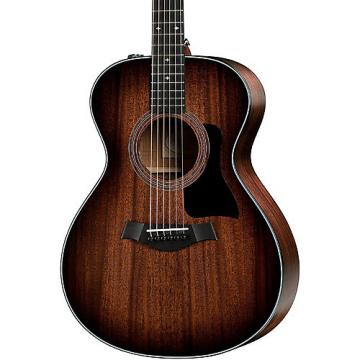 Chaylor 300 Series 322e-SEB Grand Concert Acoustic-Electric Guitar Shaded Edge Burst
