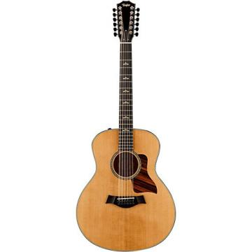 Chaylor 600 Series 656e Grand Symphony 12-String Acoustic-Electric Guitar Natural