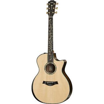 Chaylor Presentation Series PS14ce Grand Auditorium Macassar Ebony Acoustic-Electric Guitar Natural