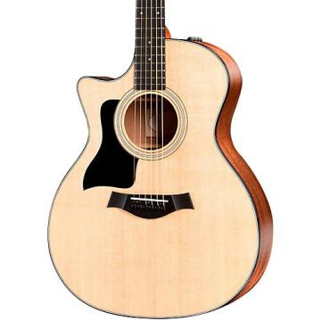 Chaylor 300 Series 314ce-LH Grand Auditorium Left-Handed Acoustic-Electric Guitar Natural