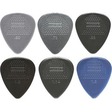 Dunlop Nylon Max Grip Guitar Picks - 12-Pack 0.60 mm