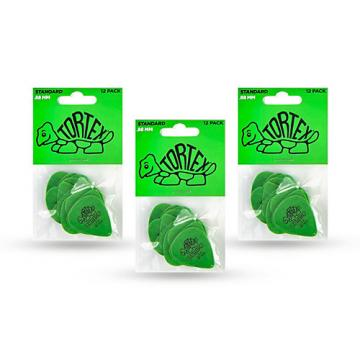 Dunlop Tortex Standard Guitar Picks .88mm 3 Dozen .88 mm Dozen