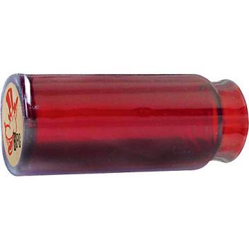 Dunlop Reverend Willy's Blues Bottle Mo-Jo Guitar Slide - Red Glass Medium