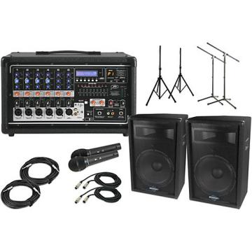 """Peavey Pvi6500 with S715 15"""" Speaker PA Package"""