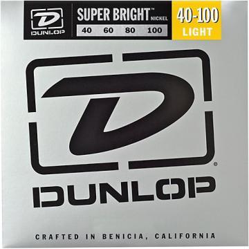 Dunlop Super Bright Nickel Light 4-String Bass Guitar Strings