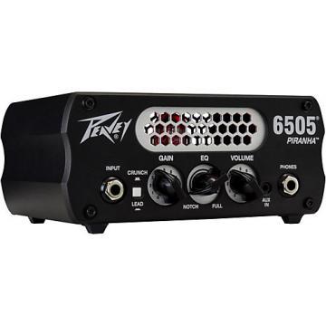 Peavey 6505 Piranha 20W Tube Hybrid Guitar Amp Head Black