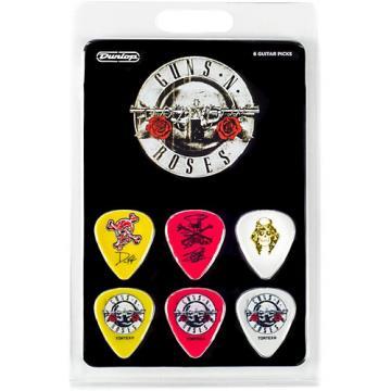 Dunlop GNR001 Guns N Roses Guitar Picks 6 Pack