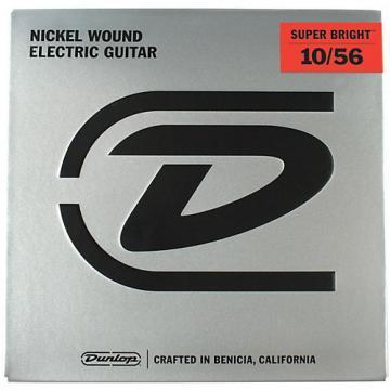 Dunlop Super Bright Medium Nickel Wound 7-String Electric Guitar Strings (10-56)