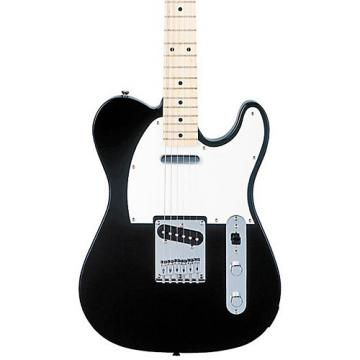 Squier Affinity Series Telecaster Electric Guitar Black Maple Fretboard