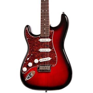 Squier Standard Stratocaster Left-Handed Electric Guitar Antique Burst