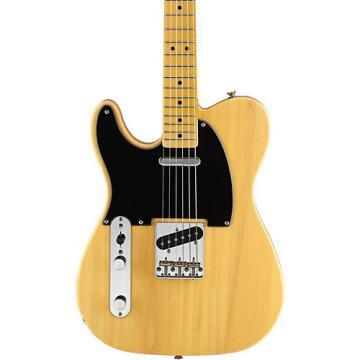 Squier Classic Vintage Left-Handed '50s Telecaster Electric Guitar Butterscotch Blonde