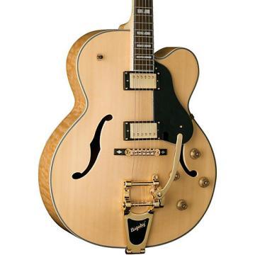 Washburn J7V Jazz Venetian Cutaway Electric Guitar Natural