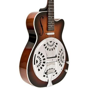 Washburn USM-R15RCE Resonator Acoustic-Electric Guitar Tobacco Sunburst