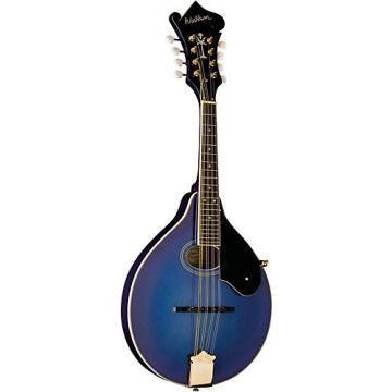 Washburn M1SDL A-Style Mandolin Transparent Blue