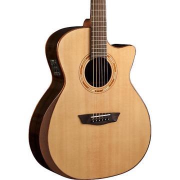 Washburn Comfort Series USM-WCG20SCE Acoustic-Electric Guitar Natural