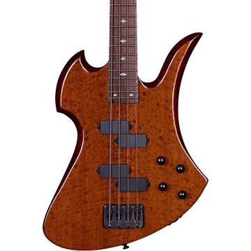 B.C. Rich MK3B Mockingbird Electric Bass Guitar Gloss Natural