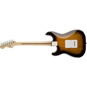 Squier by Fender Bullet Strat Beginner Electric Guitar - Brown Sunburst - Rosewood Fingerboard