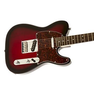 Squier by Fender Standard Telecaster Electric Guitar - Antique Burst - Rosewood Fingerboard