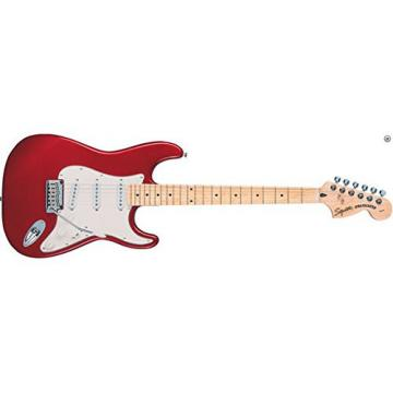Squier by Fender Standard Stratocaster Electric Guitar - Candy Apple Red - Maple Fingerboard