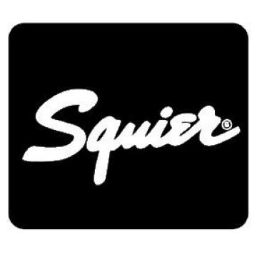 """SQUIER GUITAR Decal 3062 Personalize Your Car Window, SUV, Guitar Case or Laptop. Great Gift for Music Lovers (8""""x8"""", White)"""