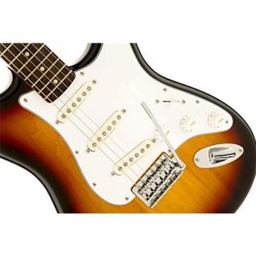 Squier by Fender Vintage Modified Stratocaster Electric Guitar - 3-Color Sunburst - Rosewood Fingerboard