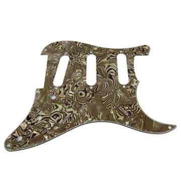 IKN Boa Stripe 3Ply SSS Guitar Pickguard Pick Guard & Back Plate With 20 Screws fits Strat/SQ Style