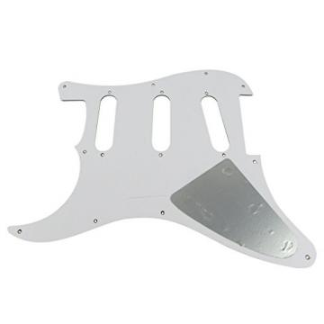 IKN Pickguard Scratch Plate SSS w/Screws for Squier Style Guitar ,Tawny Stripe
