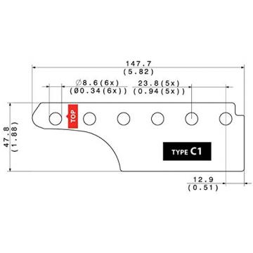 Tronical Backplate Type C1 | Guitar Contacting PCB for TronicalTune Plus
