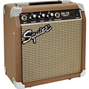 Squier® SA-10 10-watt Acoustic Guitar Amplifier