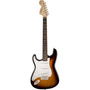 Fender Squier Affinity Stratocaster Lefty Electric Guitar w/Gig Bag & More