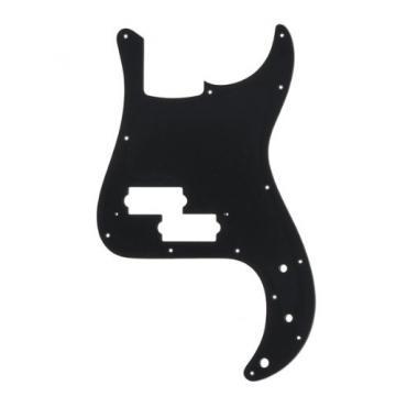 MIJ Pickguard for Precision Bass Black 1Ply fa-pg-pb-b1