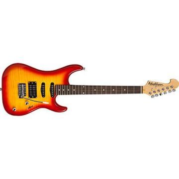 Washburn Sonamaster S3HXRS Solid-Body Electric Guitar, Red Sunburst