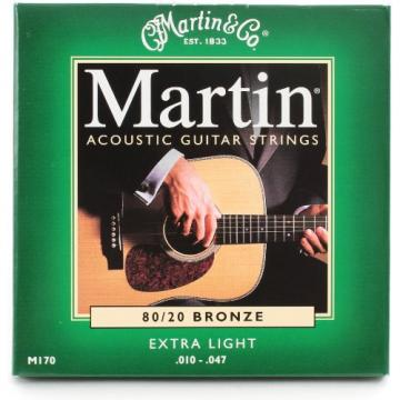 Martin M170 80/20 Bronze Round Wound Extra Light Ac-Guitar Strings