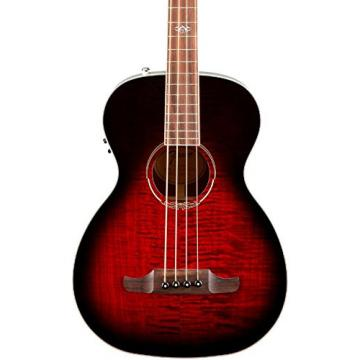 Fender T-Bucket 300 Acoustic Electric Bass Guitar, Rosewood Fingerboard - Trans Cherry Burst