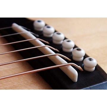 Acoustic Bone Saddle - Fits Many Martin Guitars