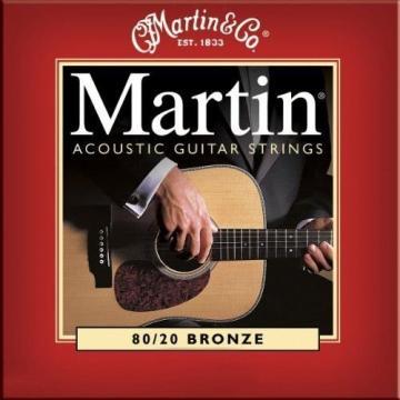 Martin M140 Bronze Acoustic Guitar Strings, Light New