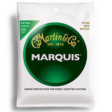 Martin Marquis 80/20 Bronze Acoustic Guitar Strings